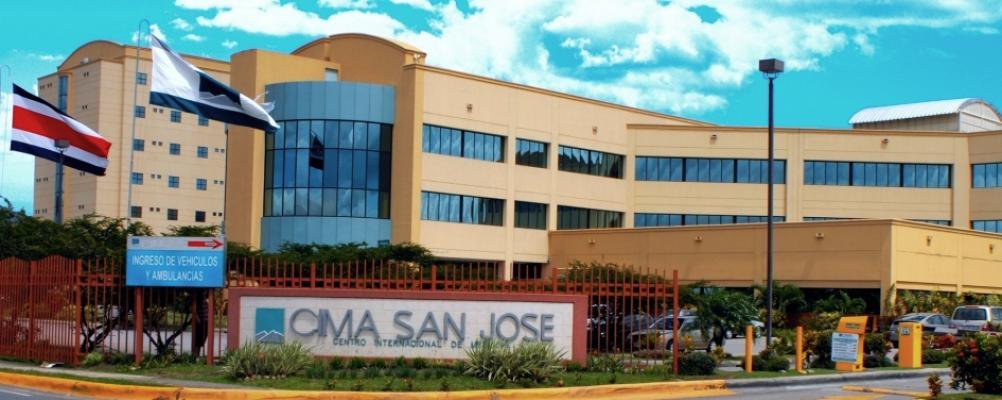 CIMA hospital is a 5 minute walk