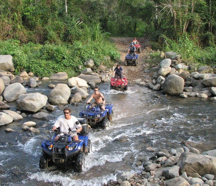 jungle atv tours on stream